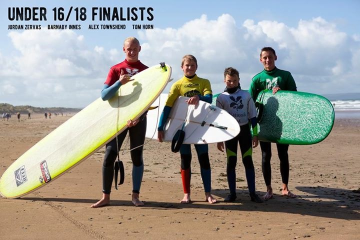 Under 16/18 Boys Finalists