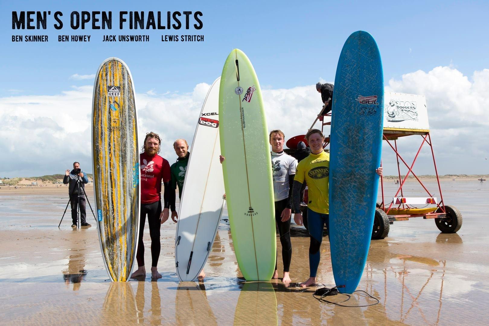 Men's Open Finalists